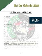 Le Mans Gtp-lmp 2015