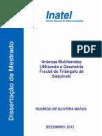 Dissertacao - 2012 - Rodrigo de Oliveira Matos