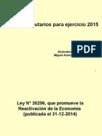 Cambios Tributarios y Laborales 2015