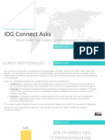 IDG Connect Buyer Behaviour Regional Research - Middle East