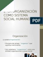 Sociología de la Organización