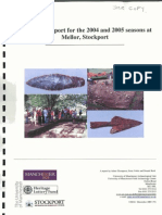 2004 and 2005 seasons of archaeological excavation at Mellor