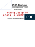 Piping Design to AS4041 & ASME B31.3