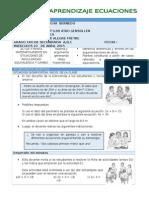 SESION APLICANDO RUTAS  ECUACIONES LINEALES 2015.docx