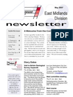 CDG East Midlands newsletter May 2007