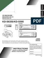 JVC CD Receiver KD-S6350/KD-S590