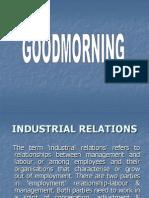 Industrial Relations