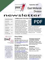 CDG East Midlands newsletter September 2007