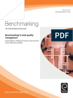 Benchmarking in Total Quality Management