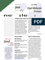 CDG East Midlands newsletter June 2008