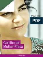 Cartilha Da Mulher Presa. CNJ