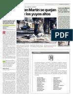 Vecinos del Barrio San Martín se quejan por basura y pastos altos