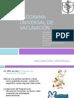 Programa Universal de Vacunación