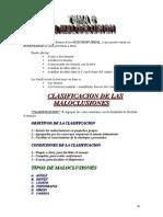 Tema 6 La Maloclusion
