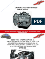 1 Transeje Automatico Electronico -(Diagnostico) 3 a 4 - 15 Abril