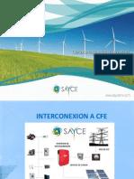 Interconexion a Cfe