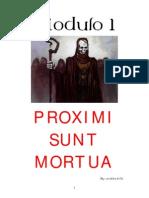Proximi Sunt Mortua primer crónica para vampiro la mascarada