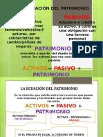 Ecuacion Del Patrimonio