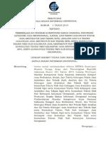 Agce2abt6e Perka No. 9 Thn 2014 Tgl 13 Mei 2014 Pemberlakuan Standar Kompetensi Kerja Nasional Indonesia