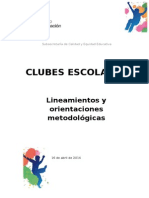 Lineamientos Clubes Final 16 de Abril