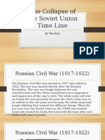 the collapse of the soviet union time line