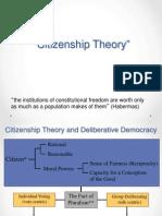 Citizenship Theory