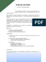 Guía de Lectura- Ficción- 2015