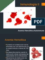 Y Inmunología II Anemia Hemolitica