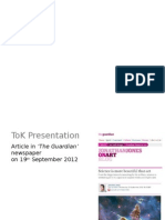 Presentation Examassaple 2012