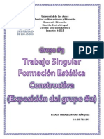 Trabajo Singular f.e. Constructivista PDF