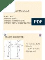 Clase 9 - Porticos 2D