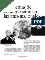 Problemas de Comunicación en Las Transnacionales