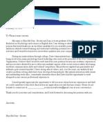 general cover letter