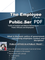 employee as public servant