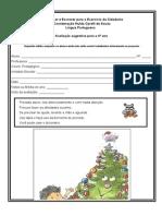 Leitura - avaliação aluno - 4º ano.doc