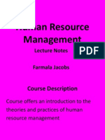 human resource management ln