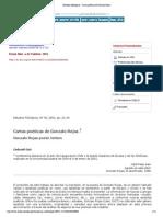 Estudios filológicos - Cartas poéticas de Gonzalo Rojas