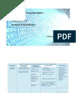 Introducción a La Tecnología Digital I Unidad 1 Tema 1, 2, 3, 4 y 5 Actividad de Aprendizaje 1, F