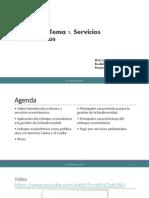 Unidad IV. Tema 1. Servicios Ecosistémicos