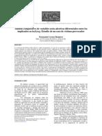 Análisis Comparativo de Variables Socio-Afectivas Diferenciales Entre Los Implicados en Bullying