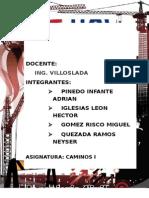 INFORME TECNICO PARA EL DISEÑO GEOMETRICO DE CARRETERAS SEGUN PARAMETROS NORMATIVOS