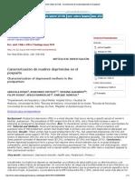 Revista médica de Chile - Caracterización de madres deprimidas en el posparto