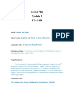 Lesson Plan on Classroom Full of Water