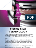 Procedure Changing Piston Ring