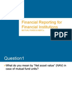 Financial Reporting for Financial InstitutionsMUTUAL FUNDS & NBFC's