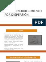 endurecimiento por dispersion