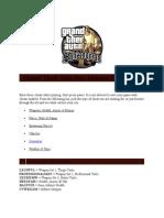 GTA San Andreas Cheatsheet