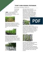 Teknologi Tepat Guna Bidang Pertanian