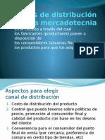 Canales de Distribución de La Mercadotecnia