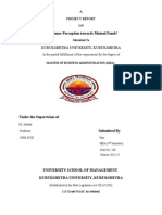 MF Dissertation Final Report